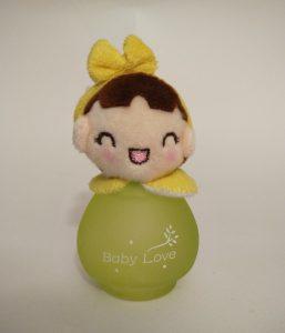 ادکلن کودک beibei bear - دخترک تل دار زرد - کد 29-144